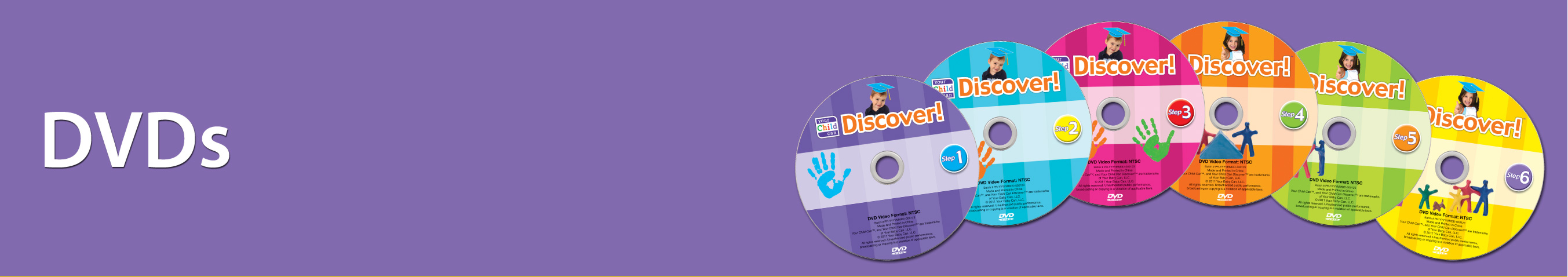 Your Child Can Discover DVDs