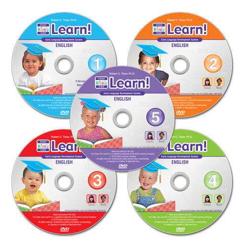 5 YBCL DVDs