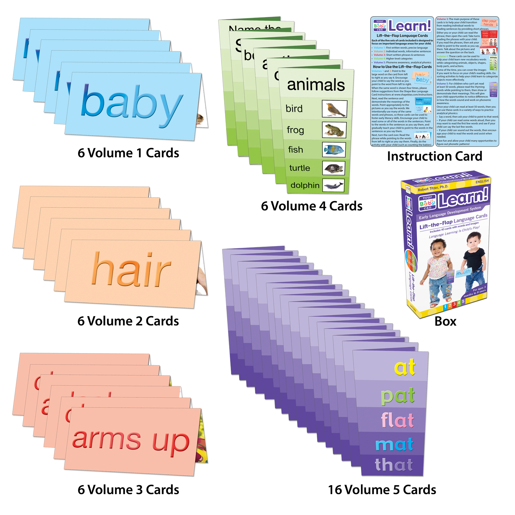 Lift-the-Flap Language Cards