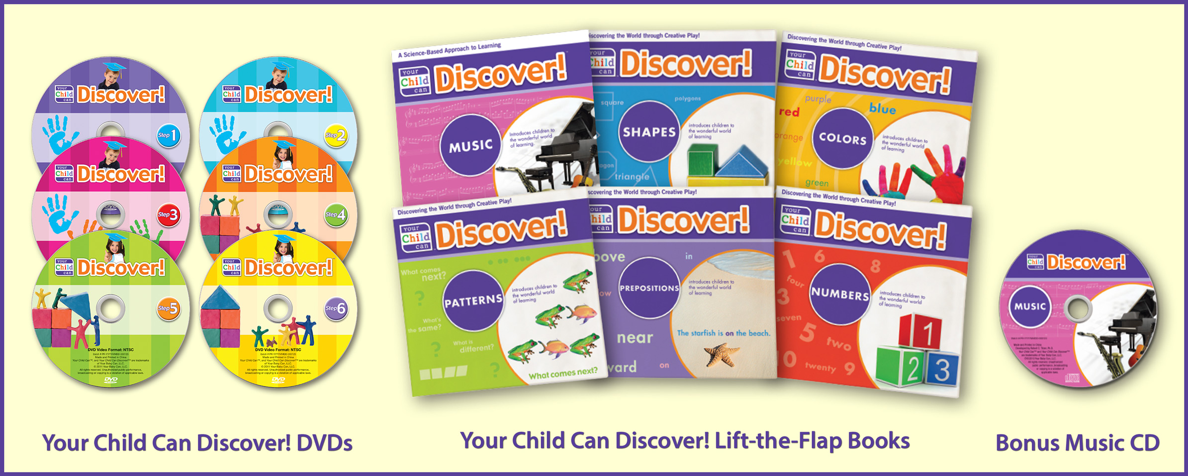 Your Baby/Child Can Discover Products