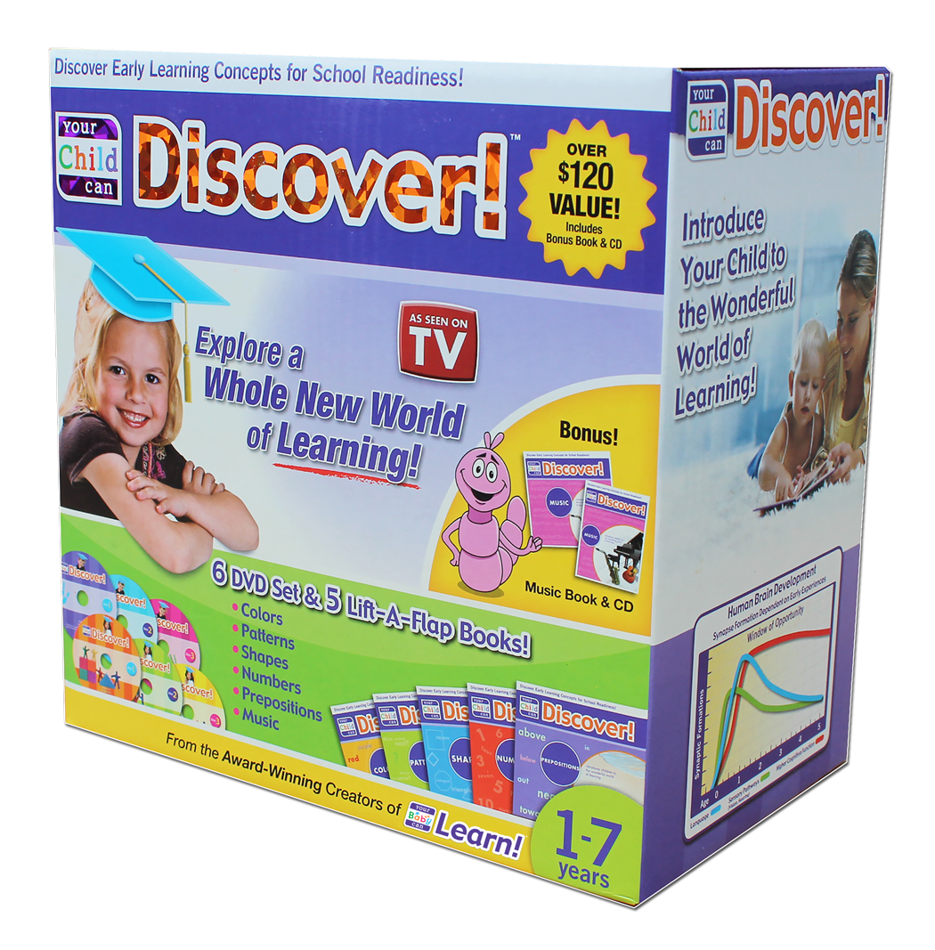Your Child Can Discover! Box