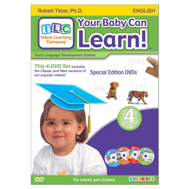 Your Baby Can Learn! Volumes 1–4 DVD Case