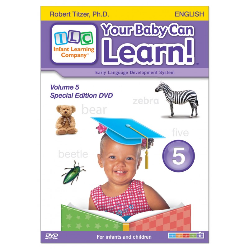 Your Baby Can Learn! Volume 5 DVD Case