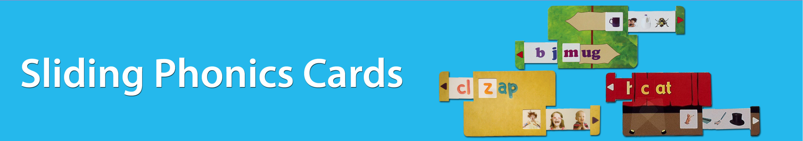Your Child Can Read Sliding Phonics Cards