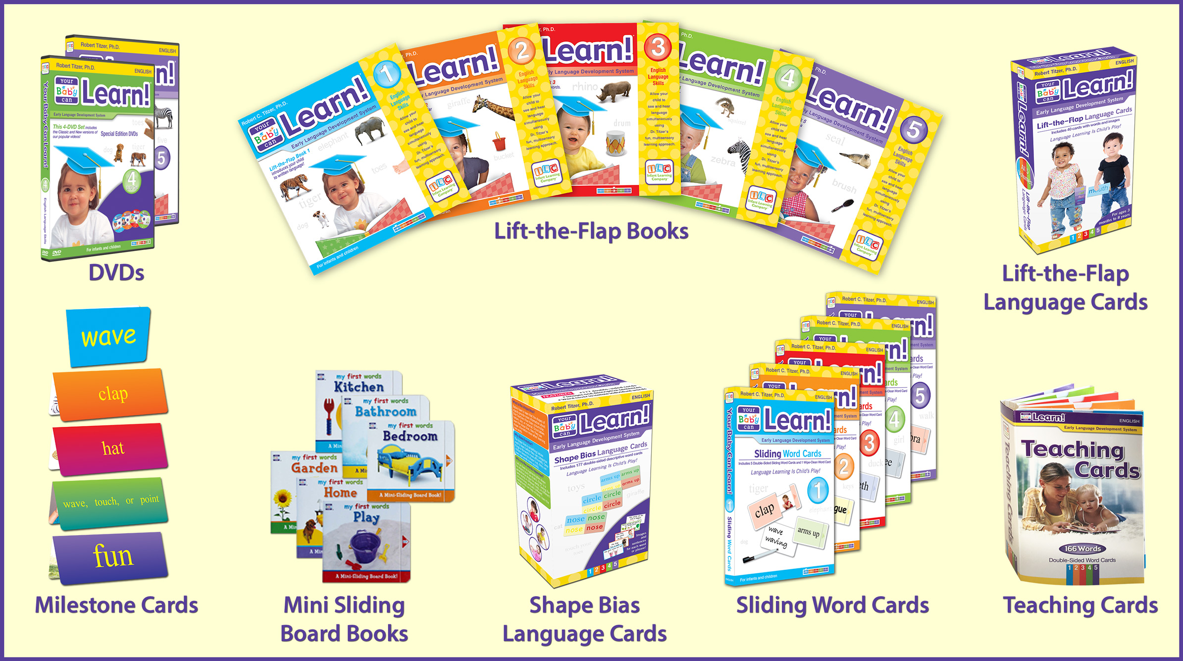 Your Baby Can Learn! Products