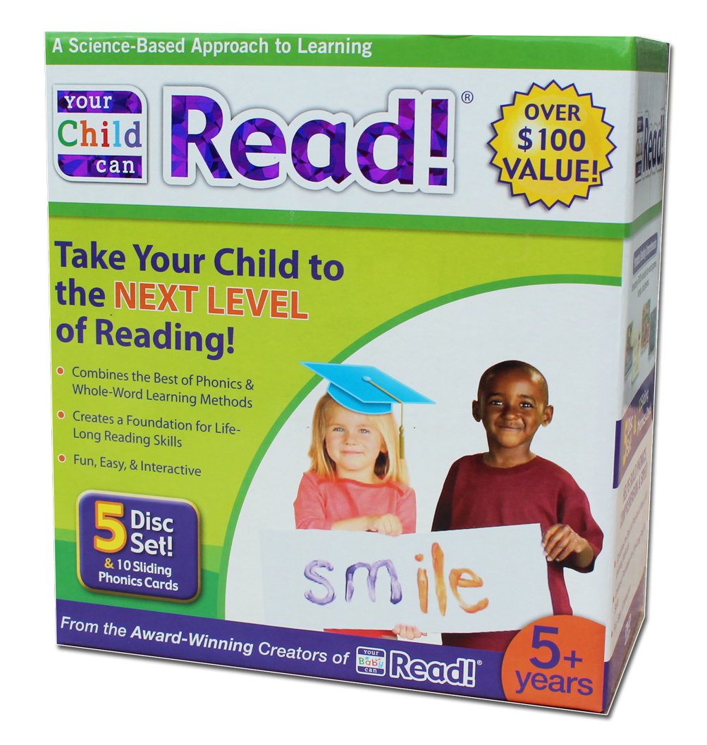 Your Child Can Read! Box