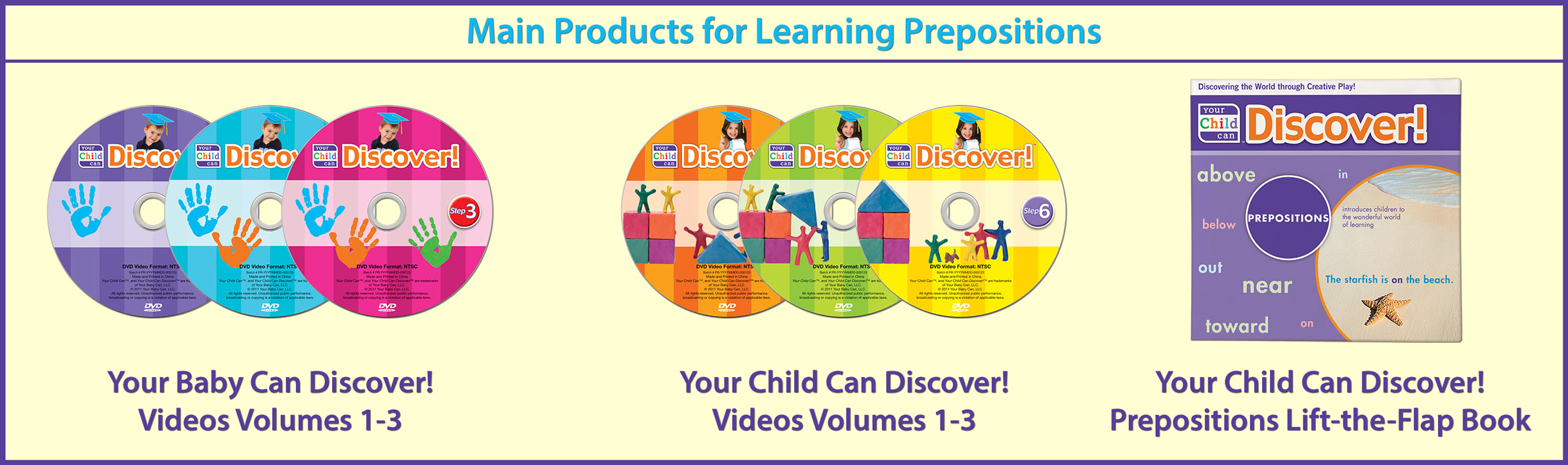 Main Products for Learning Prepositions