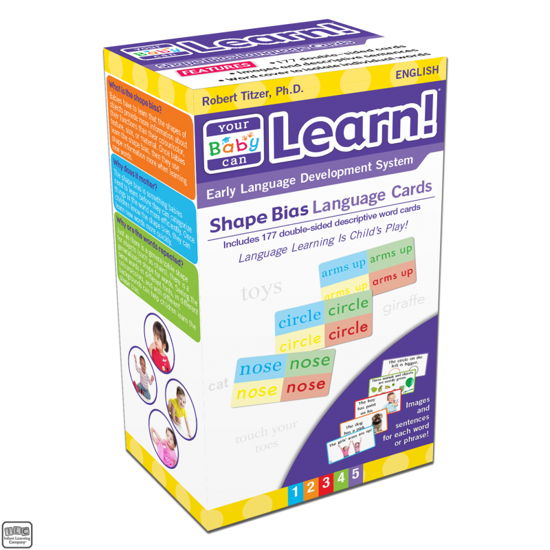 Shape Bias Language Cards (New!) - 5+ Years - Products By Age