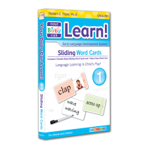 Your Baby Can Learn! Volume 1 Sliding Word Cards