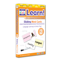 Your Baby Can Learn! Volume 2 Sliding Word Cards