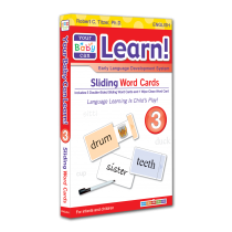 Your Baby Can Learn! Volume 3 Sliding Word Cards
