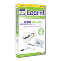 Your Baby Can Learn! Volume 4 Sliding Word Cards
