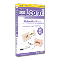 Your Baby Can Learn! Volume 5 Sliding Word Cards
