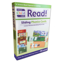 Sliding Phonics Cards Box