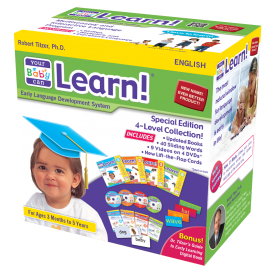 Your Baby Can Learn! American English 4-Level Kit