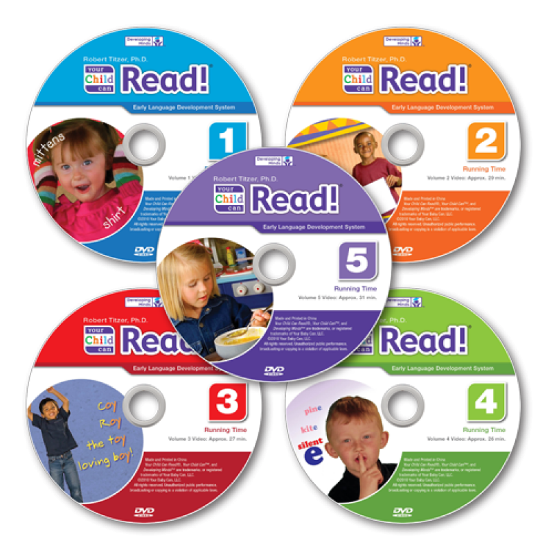 Your Child Can Read! DVDs