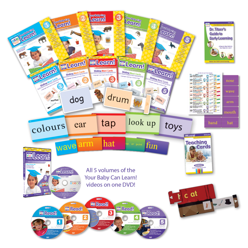 Your Baby Can Learn! British English