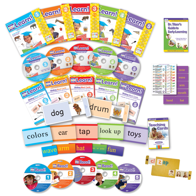 Your Baby Can Learn! American English Deluxe Kit