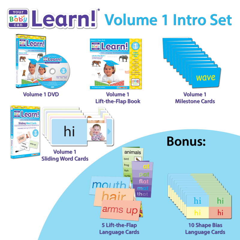 Your Baby Can Learn! Volume 1 Intro Set