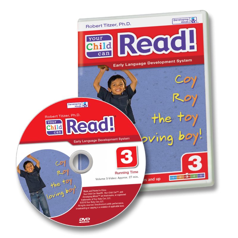 Your Child Can Read! Step 3 DVD