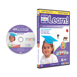 Your Baby Can Learn! British English DVD Case