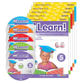 Your Baby Can Learn! German 5-DVD Set
