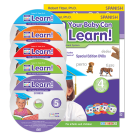 Your Baby Can Learn! Spanish 5-Video Set