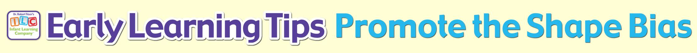 Promote the Shape Bias