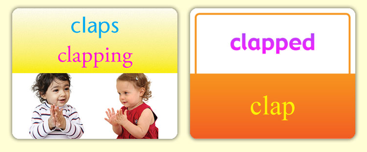 Show different variations of words.