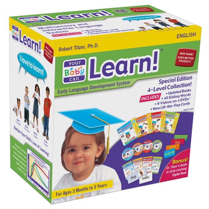 Your Baby Can Learn! British English 4-Level Kit
